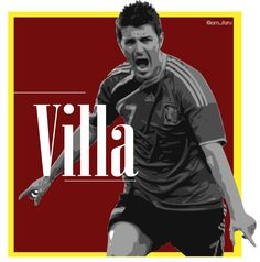 David Villa #España #Brasil2014