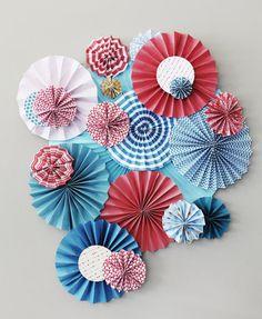 Paper Rosette Wheels