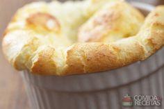 Receita de Souflê de palmito especial em receitas de sufles, veja essa e outras receitas aqui!
