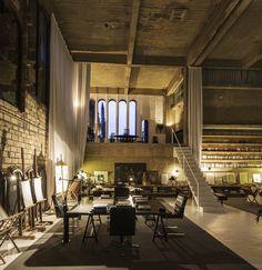 Ricardo Bofill and La Fàbrica: studio in a former cement factory | Floornature