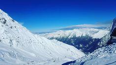 Au dessus du monde! Le bonheur...  #vidagedetête #Cauterets #ski #holidays #Pyrénées #family by instadadif