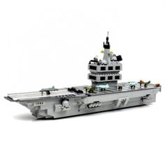 Building Block Aircraft Carrier - Lego Compatible