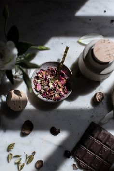 Local Milk   breakfast in bed   vegan rose + chocolate chip spelt waffles