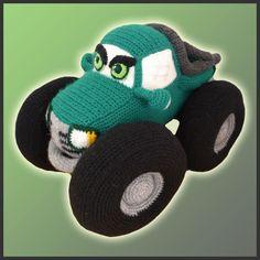 PDF Amigurumi Crochet Patron Camioneta por DeliciousCrochet