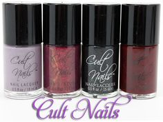 Cult Nails Debut Collection Spring 2011  #JoinTheCult #CultNails