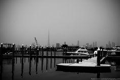 Dubai's sky pierced by the Burj