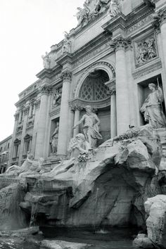 been here - trevi fountain, rome, italy Art Et Architecture, Classical Architecture, Ancient Architecture, The Places Youll Go, Places To Go, Beautiful World, Beautiful Places, Voyage Rome, Trevi Fountain