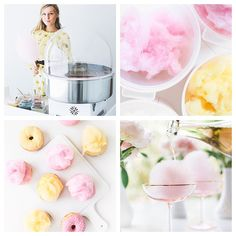 Chloë is the cotton candy queen, and brings an all-organic twist to our favorite dessert.   @BonPuf