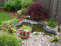 small pond----perfect...same size as my pond