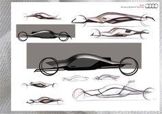 Сognition of infinity...: Design contest Audi.Rus / Sketches
