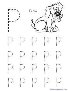 Abecedario en mayusculas con dibujos Nursery Worksheets, Letter Worksheets For Preschool, Writing Practice Worksheets, Alphabet Tracing Worksheets, Preschool Writing, Numbers Preschool, Kindergarten Math Worksheets, Preschool Learning Activities, Free Preschool