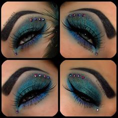 Paige peacock makeup for mom
