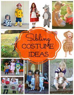 Costume Ideas for Siblings