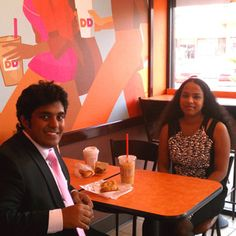Frank P. earning Facebook Credits through Plink at Dunkin' Donuts in New York
