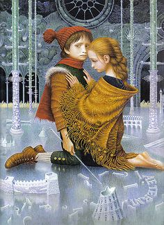 The Snow Queen (by Hans Christian Andersen) -- My FAVORITE childhood bedtime story!
