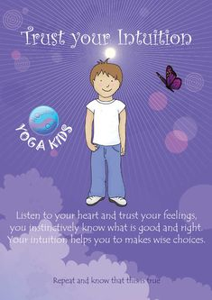 This is the first of our indigo set of affirmations taken from our forthcoming set of Empowerment affirmation cards for kids. Each Monday we are posting a new card for you to print out and keep. We have designed 56 different affirmations based on colours of the rainbow to empower children. Kids Yoga Poses, Yoga For Kids, Exercise For Kids, Kid Yoga, 4 Kids, Conscious Parenting, Mindful Parenting, Preschool Yoga, Childrens Yoga