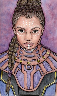Shuri (Black Panther) by KaruKiburedo on DeviantArt Black Panther Drawing, Film Black Panther, Marvel Heroes, Marvel Dc, World Of Wakanda, Shuri Black Panther, Art Inspo, Avengers, Halloween Costumes