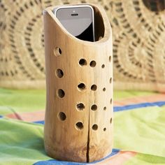 Natural Bamboo Acoustic Speaker