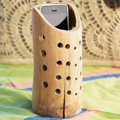 Natural Bamboo Acoustic Speaker
