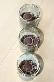Toffee-Kuchen im Glas