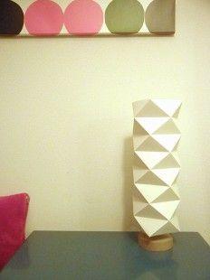 Lampe Origami DIY