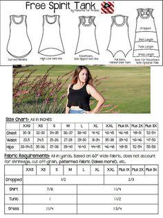 Free Spirit Tank Sewing PDF Pattern by by PatternsforPirates women's racer back…