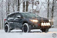 First snowfall ❄️ of the year for this 2018 running our Subaru 4x4, Subaru Baja, Subaru Forester, Subaru Crosstrek Accessories, Off Road Adventure, Subaru Outback, Impreza, Amazing Cars, Ford Trucks