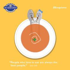 But really... #Soupisms #MotivationalMonday #Foodie #QOTD