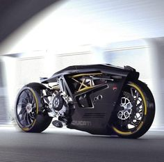 "ducatiobsession: ""👍🏻or 👎🏻? Ducati Valiente 🖤 Concept Designed by Doruk Erdem and . Concept Motorcycles, Custom Motorcycles, Custom Bikes, Cars And Motorcycles, Ducati Diavel, Ducati 998, Futuristic Motorcycle, Futuristic Cars, Moto Bike"