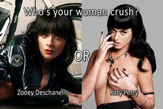 Zooey Deschanel vs Katy Perry