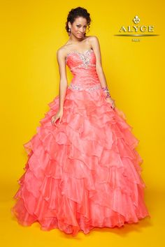QuinceaneraProm Ball Gowns by Alyce Paris9114Ready to Sparkle?