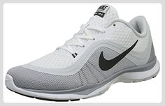 2c71b80aa4d41 Nike Womens Flex Trainer 6 White Anthracite Pure Platinum Wlf Gry  (White Grey Pure Platinum Wlf Gry) Training Shoe