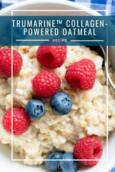 #breakfast #oatmeal #collagen #health Banana Protein Pancakes, Protein Cookies, Plant Protein, Protein Foods, Tea Latte, Oatmeal Recipes, Healthy Alternatives, Barista, Collagen