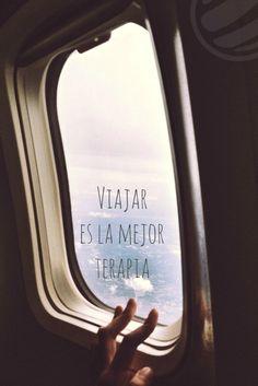 Viajar es la mejor terapia