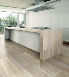 Roma Marble Specialises In Natural Stone Tiles, Porcelain Tiles For Floors, Worktops, Walls And Decorative Features Stone Look Tile, Stone Tiles, Condo Kitchen, Outdoor Flooring, Küchen Design, Travertine, Bathroom Flooring, Open Concept, Natural Stones
