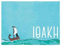 Η Ιθάκη του Καβάφη σε κόμικ Greek History, Movie Posters, Language, Art, Art Background, Film Poster, Popcorn Posters, Kunst, Film Posters