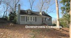 Downtown Clemson's latest listing on Bradley Street.  Call Frank Julian today!