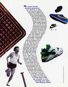 new product 0d08a 97c5a Nike the original running company was started on a waffle iron by Bill  Bowerman