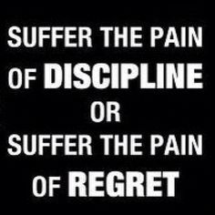 Pain of regret....so much worse