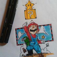 Mario bros by italosilvb