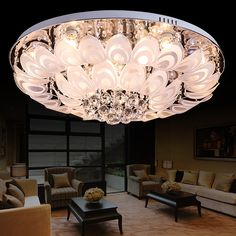 188.00$  Watch here - http://ali5w6.shopchina.info/1/go.php?t=32813822028 - Crystal combination crystal lamp manufacturers selling modern living room lamps ceiling lamps peacock living room lamps  #aliexpresschina
