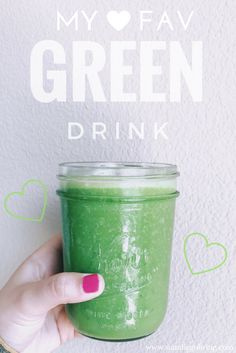 I N G R E D I E N T S  1 Banana 1 Cup Kale 1/2 Cup Cucumbers 1/2 Cup Unsweetened Original Almond Milk 2 oz. Aloe Vera Juice A Few Lemon & Lime Juice Drops  Voila! The most refreshing, tasty, #greendrink I've made to date. You have to try this :)