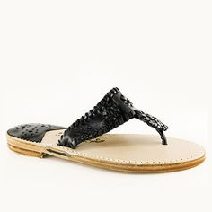 Classic Black / Black Patent Monogram Styles, Palm Beach Sandals, How To Look Pretty, Espadrilles, Pure Products, Chic, Classic, Leather, Shoes