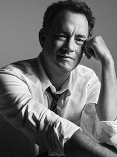 black and white headshots of Tom Hanks - Google Search