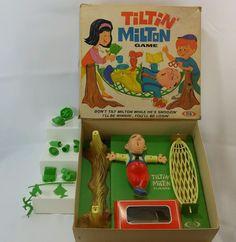 Vintage Tiltin' Milton Ideal Toy Corp 1968 Balancing Game 2 Players    eBay