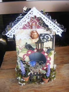 Bird House with tetra park box