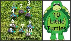 Finger Play Fun Day : 10 Little Turtles from Strings, Keys & Melodies