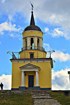 Башня на Лисьей горе в городе Нижний Тагил