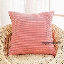 Multicol Corn kernels Corduroy Sofa Decor Throw Pillow Case Cushion Cover Square