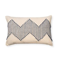 Buy the Navy Woven Chevron Cushion at Oliver Bonas. Enjoy free UK standard delivery for orders over £50.
